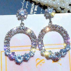Bling Bling Cubic Zirconia Earring